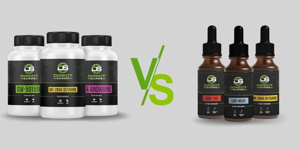 SARMs Liquid vs Capsules